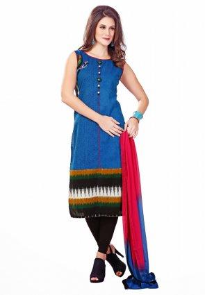 Diffusion Majesty Blue Salwar Kameez