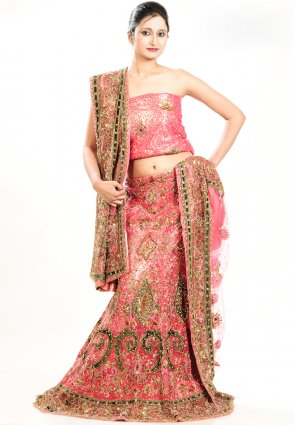 Diffusion Captivating Salmon Chaniya Choli
