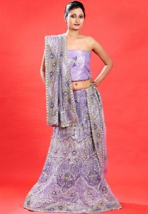 Diffusion Charming Lavender Chaniya Choli