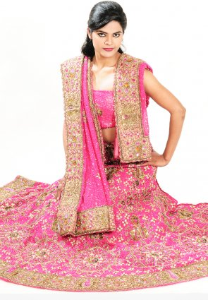 Diffusion Chic Pink Chaniya Choli