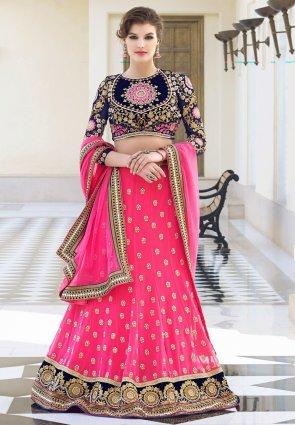 Diffusion Divine Pink Lehenga Choli
