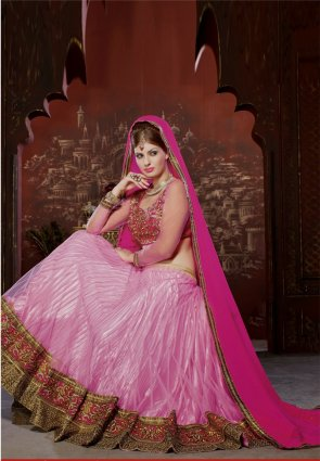 Diffusion Glamorous Pink Lehenga Choli